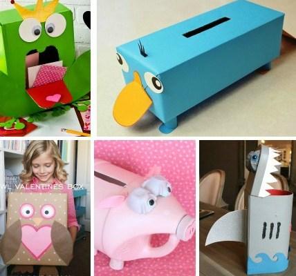 Favorite Valentine Boxes