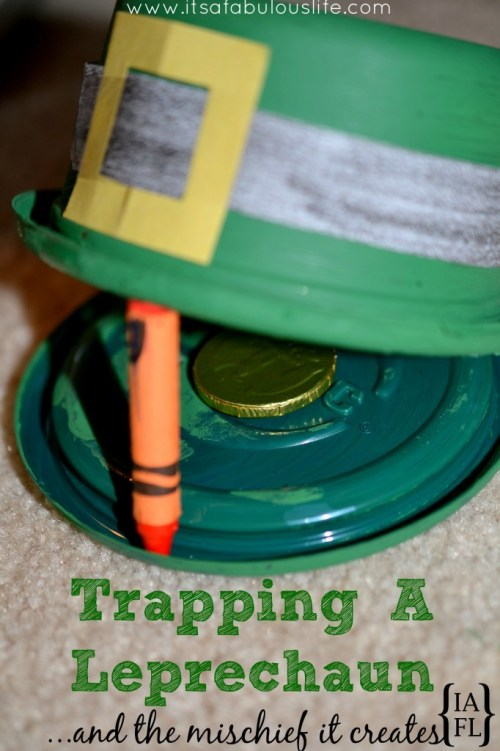 Kids leprechaun trap idea