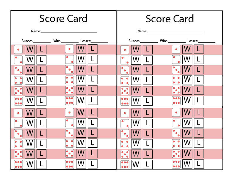 picture relating to Free Printable Bunco Score Sheets identify Valentine BUNCO printable pack - Our Thrifty Plans