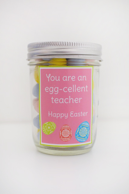 Printable tag for teachers, kids, spouse, and neighbors. Let them know how amazing they are this Easter