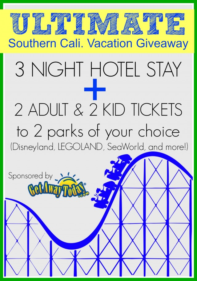 The ULTIMATE Southern California Vacation Giveaway.