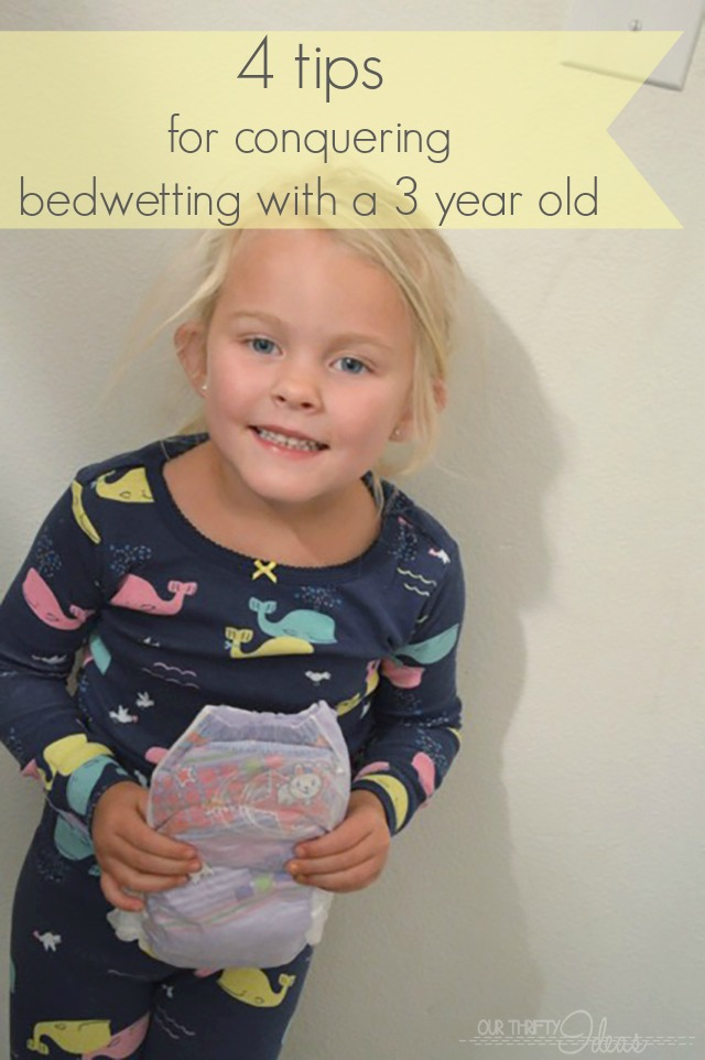 4 tips for conquering bedwetting with a 3 year old