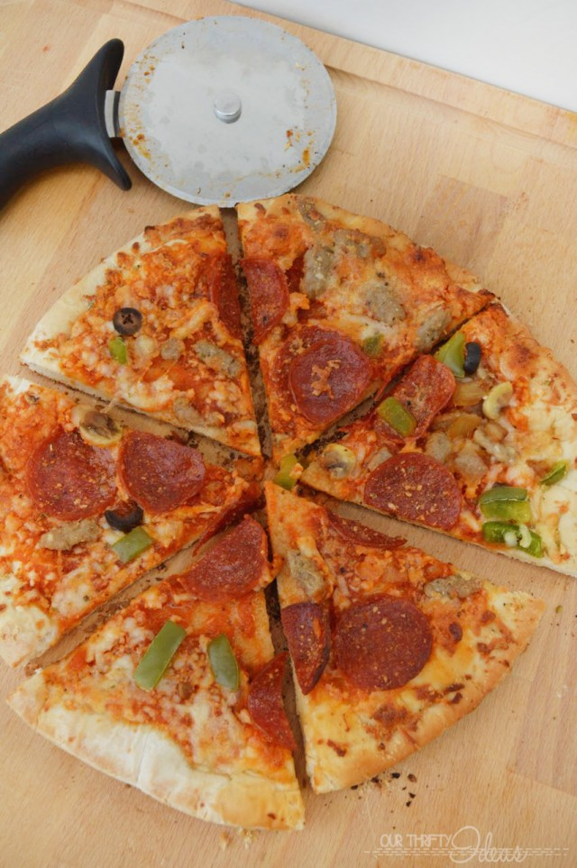 Summertime Grilling - cook a pizza on the grill