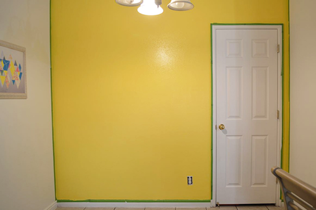 Yellow Painted Wall