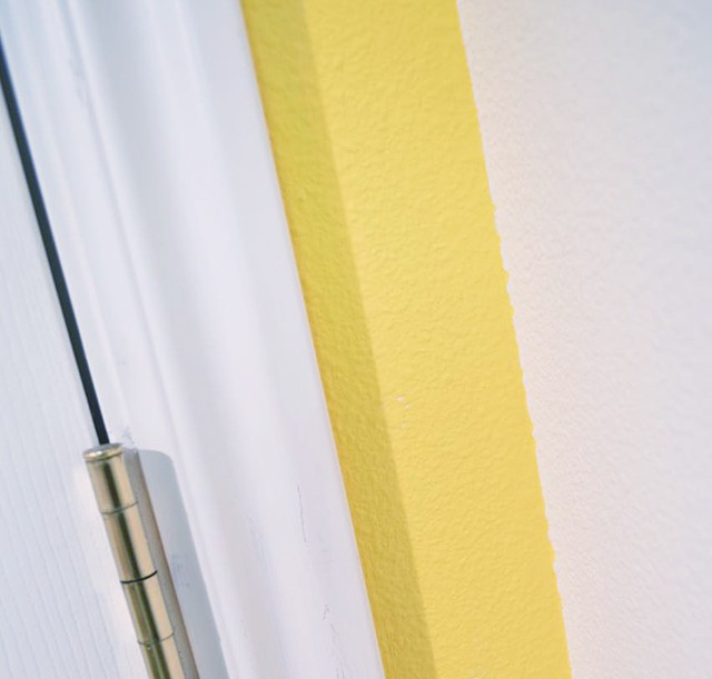 paint lines using frog tape