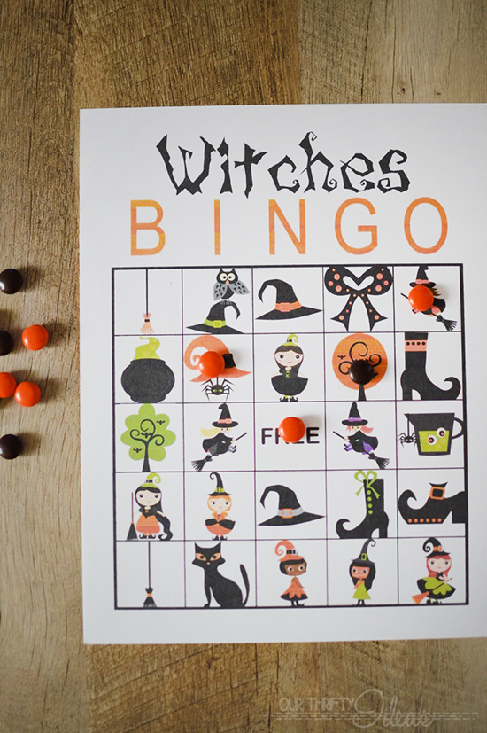 Halloween Printable BINGO
