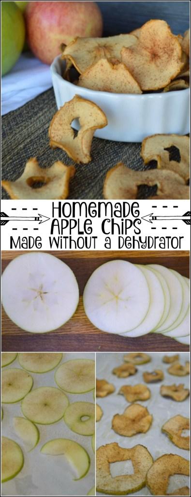 Homemade Apple Chips - YUM