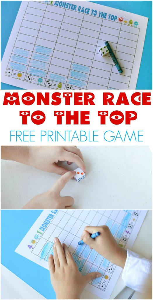 Monster Race to the Top Game