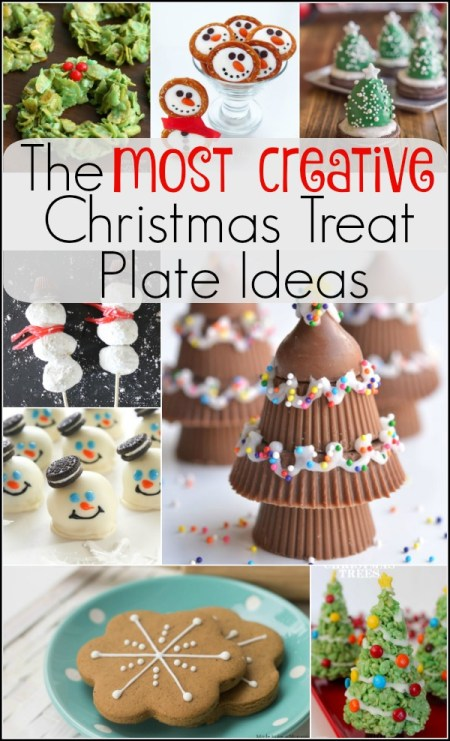 The Most Creative Christmas Treat Plate Ideas