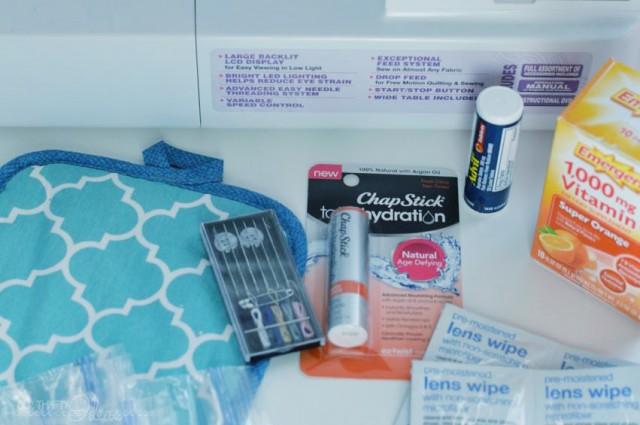create a purse essentials wallet using a hotpad