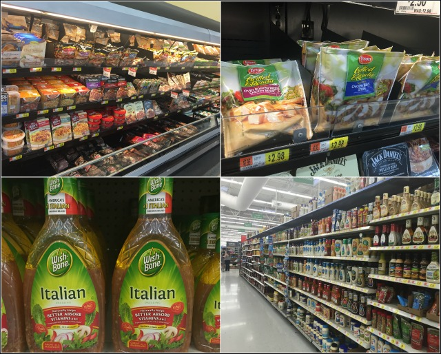 Shopping in Walmart