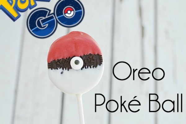 Oreo Poké Ball Pops – Tutorial