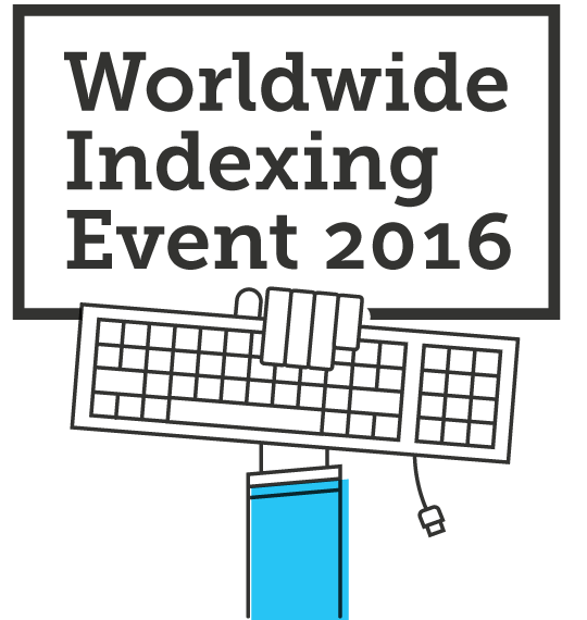 Worldwide Indexing Event 2016