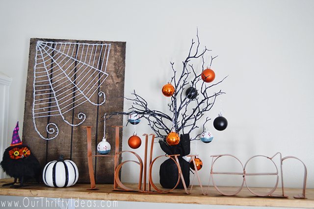 Halloween String Art Tutorial