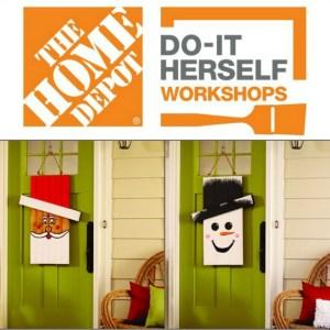 Seasonal Character Door Hanger DIH Announcement – The Home Depot Workshop