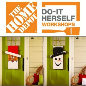 Seasonal Character Door Hanger DIH Announcement – The Home Depot Workshop