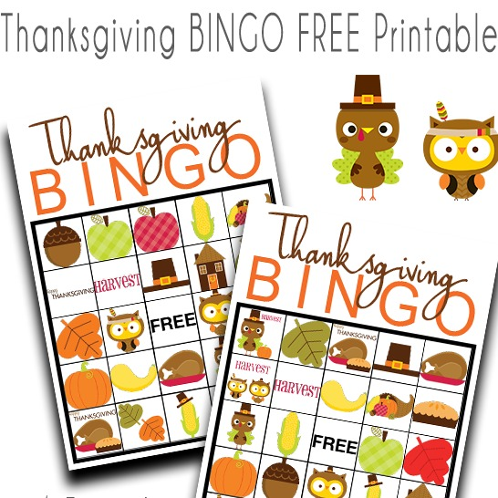 picture regarding Free Printable Thanksgiving Bingo called Thanksgiving BINGO free of charge Printable Activity - Our Thrifty Recommendations