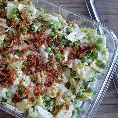 Make Ahead Salad – Sarah Salad Recipe