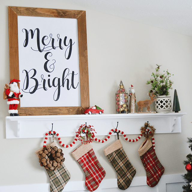 Merry & Bright Christmas Print – Free Download