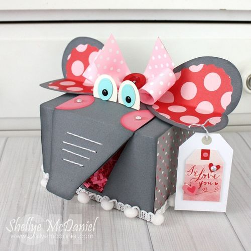 Elephant Valentine Box