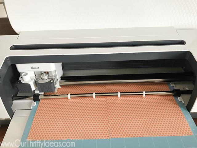 Making a Halloween paper banner using the Cricut Maker Machine