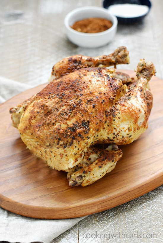 faux-tisserie chicken