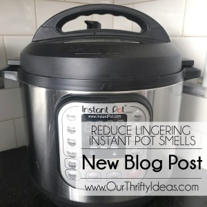 How to reduce lingering smells from your Instant Pot.