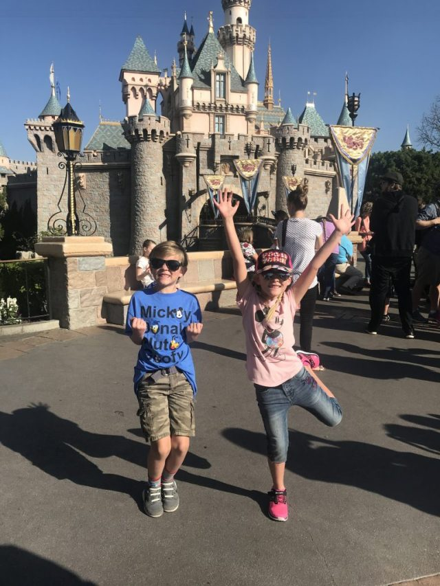 Kids at Disneyland!
