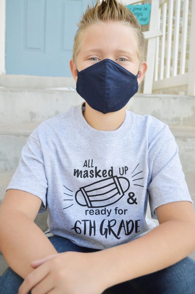 All Masked Up Shirt for School