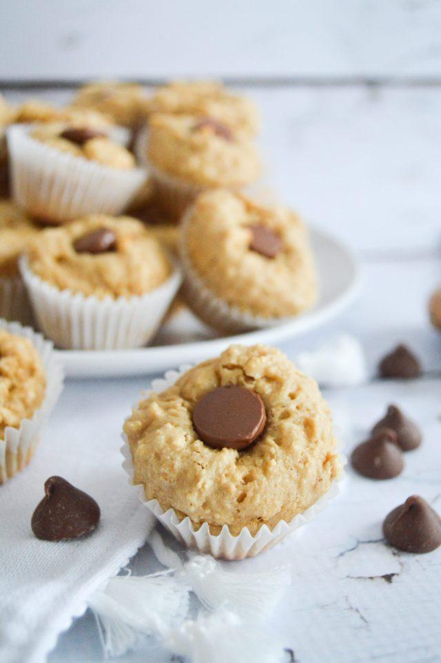 Protein Pancake Bites - Peanut Butter Cup recipe