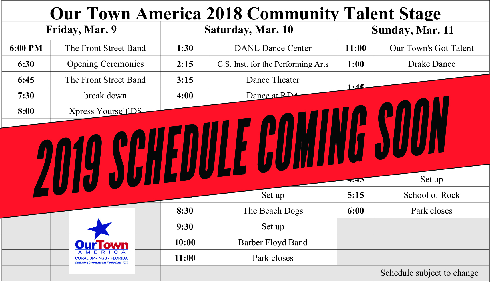 entertainment-schedule-coming-soon
