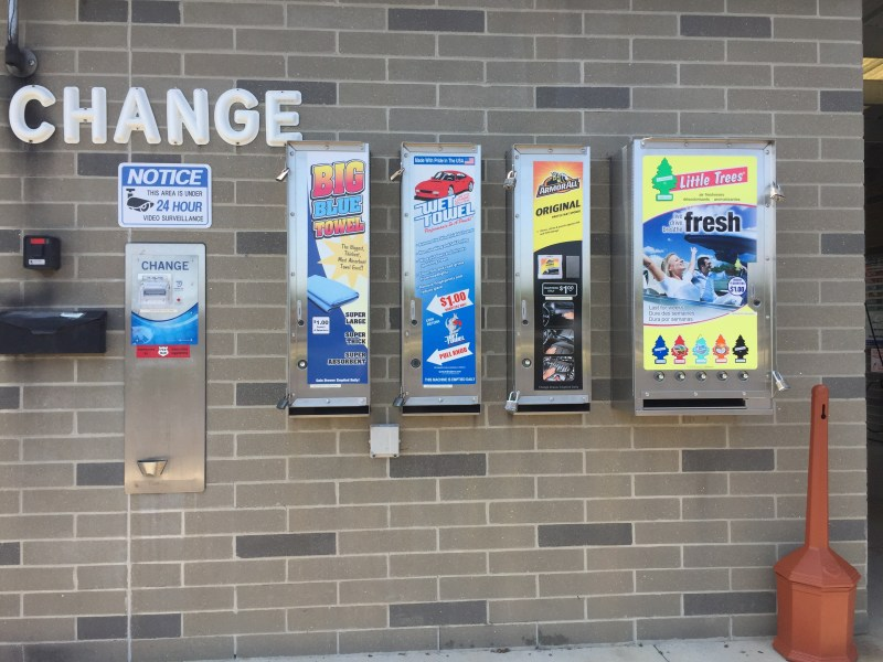 Car Care Vending