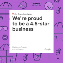 Google Rating - Social Post - Small Thanks