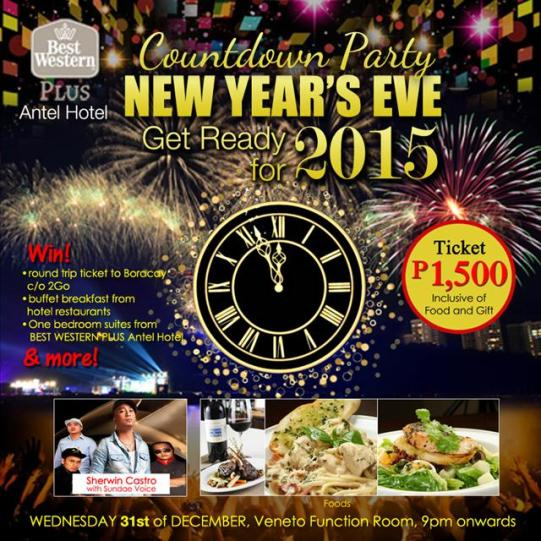 best-western-antel-hotel-makati-new-year event