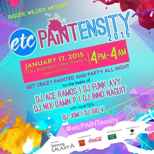 Paintensity 2015: Sinulog Color Party