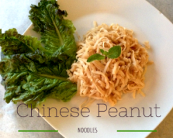 Chinese Peanut Noodles