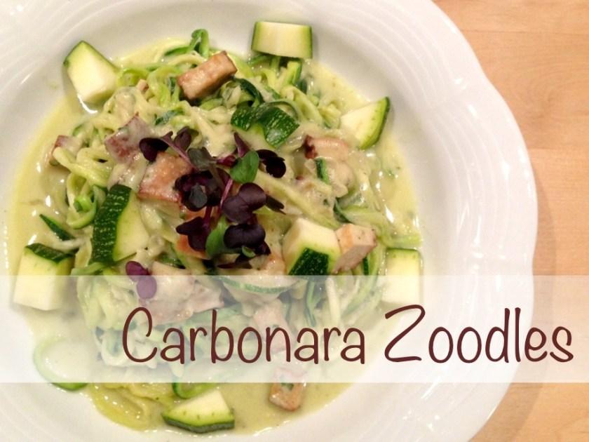 Carbonara Zoodles