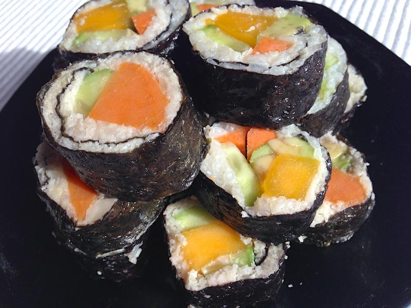 Low-Carb Cauliflower Sushi