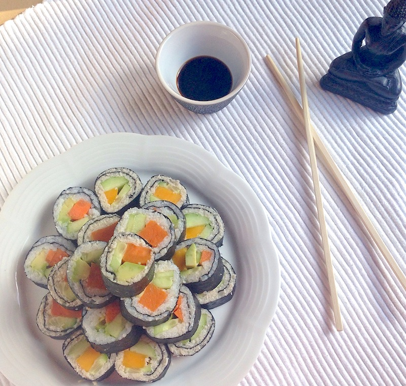 Low-Carb Cauliflower Sushi