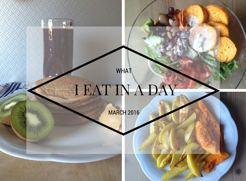 What I Eat In A Day March