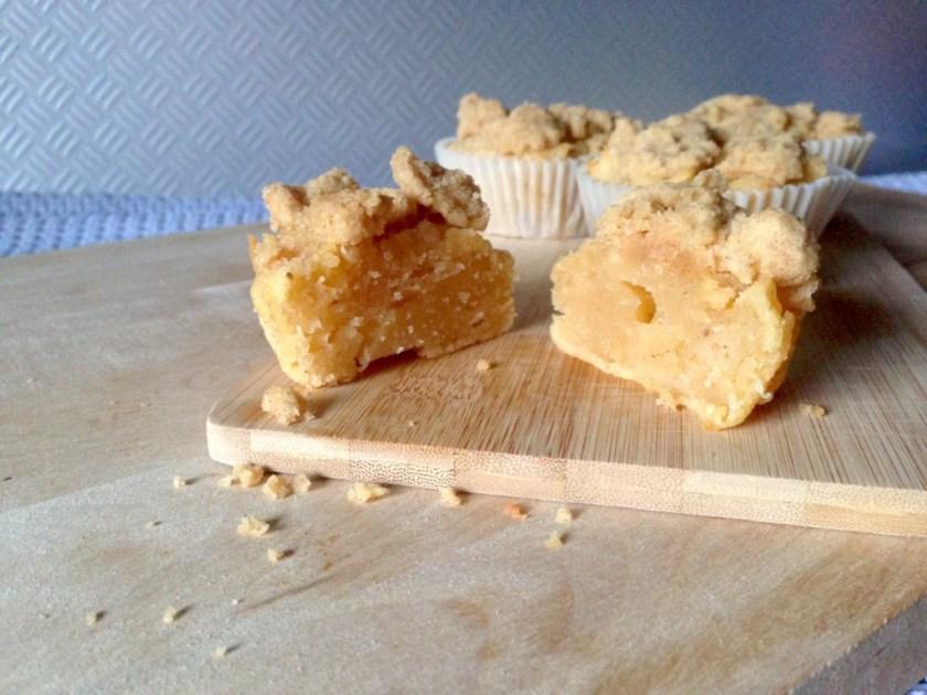 Vegan Glutenfree Apple Crumble Muffins