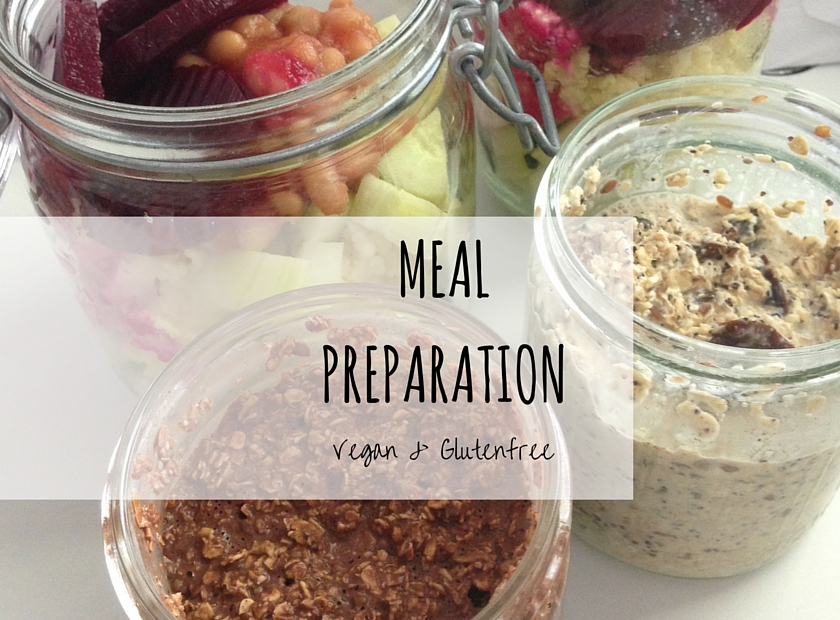 Vegan & Glutenfree Meal Preparation