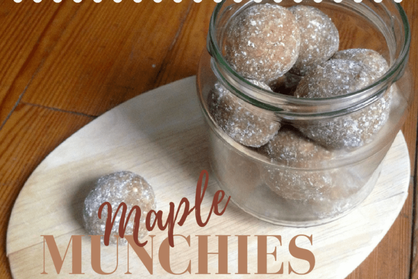 Snickerdoodle Bliss Balls