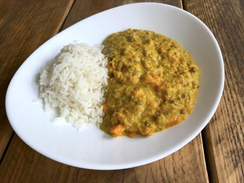 Turmeric Lentil Curry