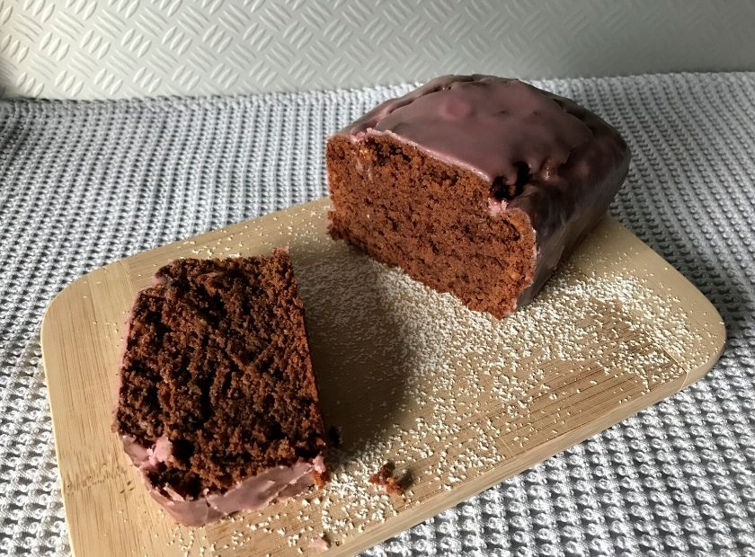 Vegan Gingerbread Red Wine Cake-1