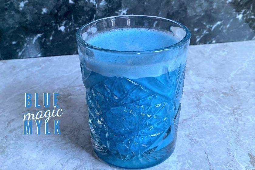Vegan Blue Magic Milk