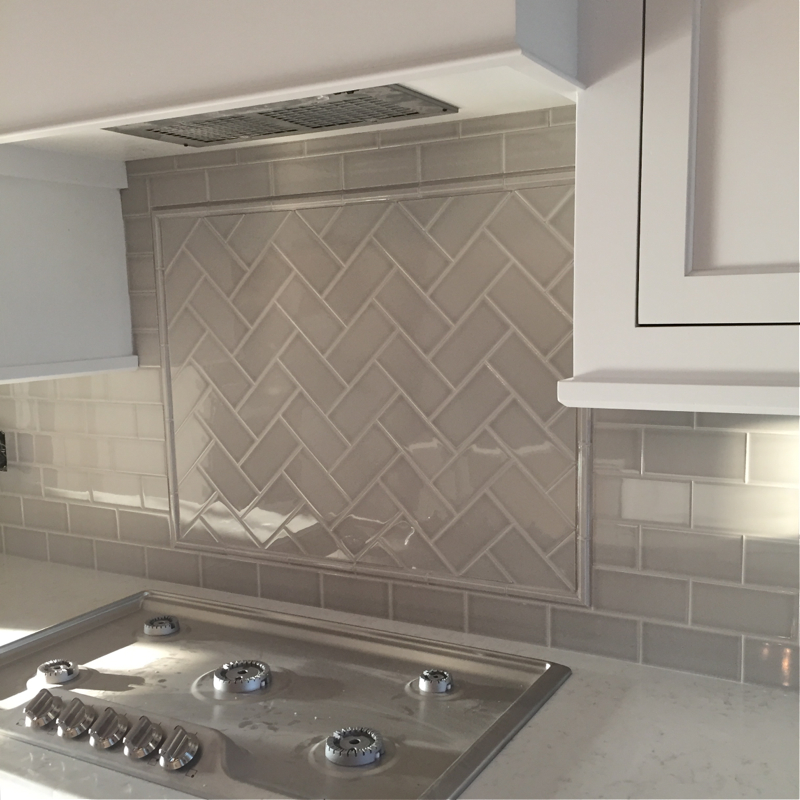 Kitchen Countertops And Tile Details Of Our Modern