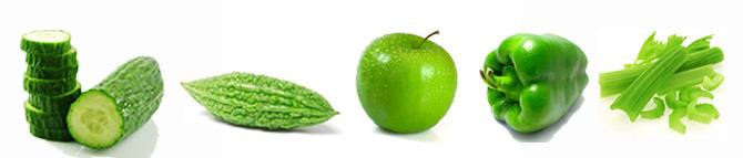 5 Green Veg