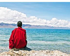Meditating-Buddhist