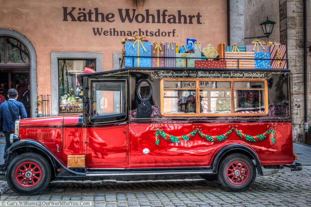 Käthe Wohlfahrt, Rothenburg ob der Tauber, Bavaria, Germany